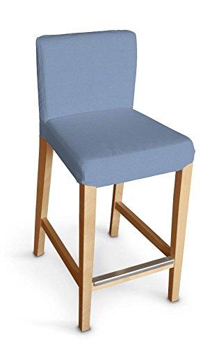 Dekoria IKEA HENRIKSDAL Sgabello da bar, colore azzurro: Amazon.it ...