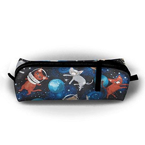 YesFutureIs Female Oxford Cloth Stationery Bag Galaxy Space