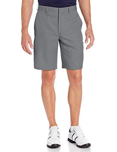 Louis Raphael Men's Flat Front Golf Short, Grey, 36W - Louis Mens Shorts