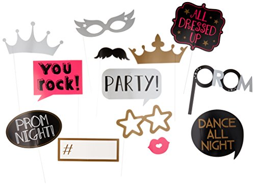 Amscan Prom Photo Props | Party Favor | Pack of -
