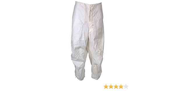 Military Outdoor Clothing Never Issued US G.I White Snow Trousers
