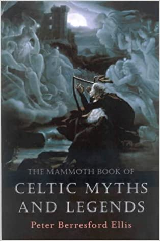 Image result for the mammoth book of celtic myths and legends book cover