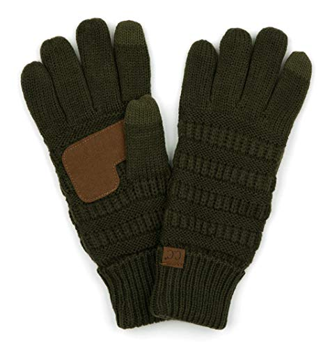 G2-6020a-33 Knitted Lined Gloves - New Olive