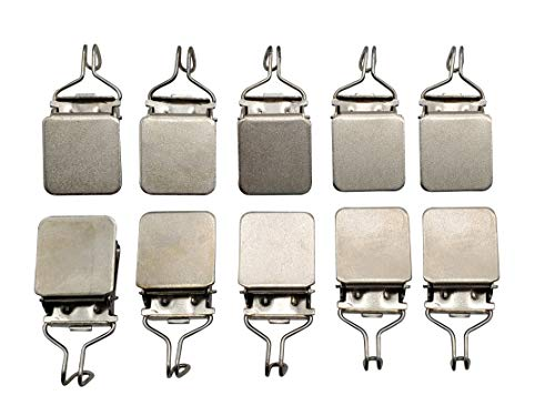 Small Hanging Clips (10 pcs) Medium Power Hook Based for Tapestry Small Rug and Paintings by Wise Linkers (Hang Flag On Wall)
