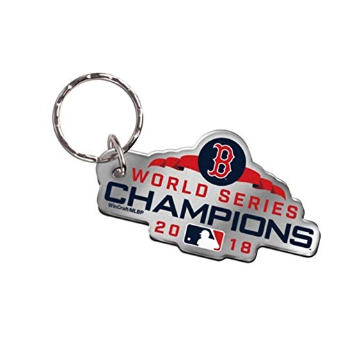 Stockdale Boston Red Sox 2018 World Series Champions Acrylic Keychain Premium Die Cut Baseball