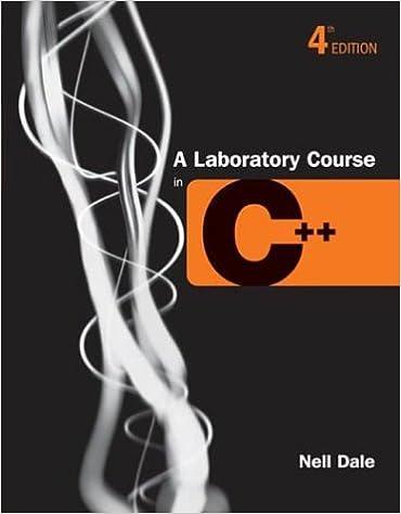Book A Laboratory Course in C++ 4e Pb