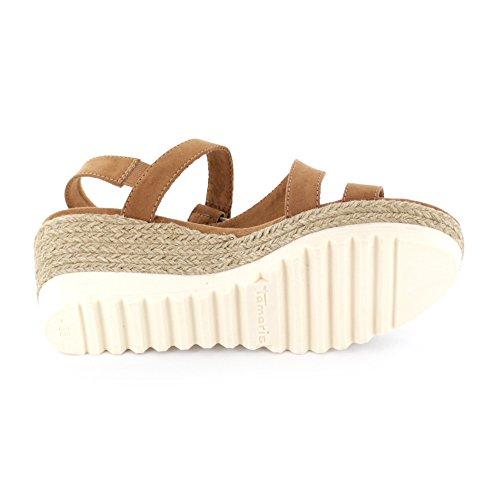 Colour Sandalette Colour Brown Tamaris Keil Tamaris Sandalette Keil ZwnWYxqw5r