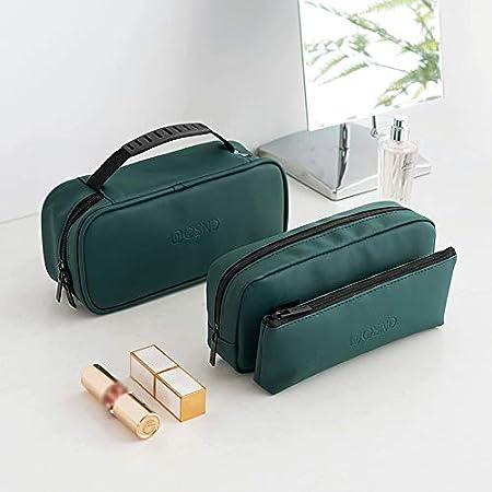 Blanco(1 PCS) Scrox 1x Bolsas de Maquillaje Profesional Maquilladores Moda Cosm/éticos Organizador Port/átil para Viajes Cosm/éticos y Accesorios Bolsa Deporte Mujer Funda de Viaje