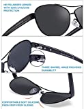 Carfia Polarized Sunglasses for Women UV Protection