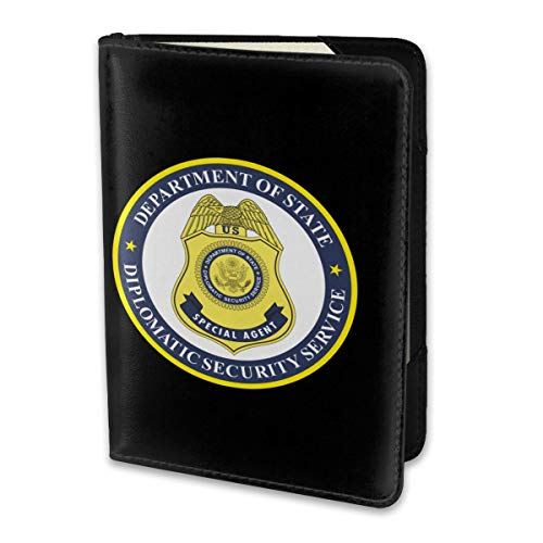 Travel Passport Cover Case Passport Holder 5.51 X 3.94 United States Diplomatic Security ()