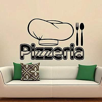 Chef Sombrero y Cubiertos Wallpaper extraíble Pegatinas de ...