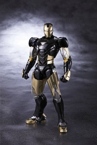 Tamashii Nations 2013 S.h. Figuarts Iron Man Mark 6 Black Ver. Limited Edition by -