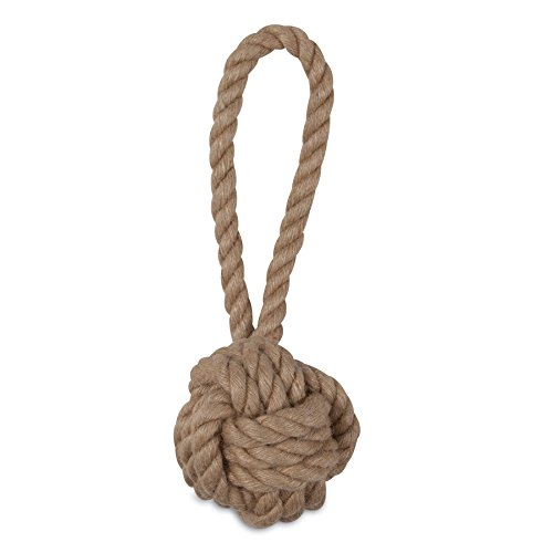Fist Rope Monkey - MuttNation Fueled by Miranda Lambert Monkey Fist Rope Dog Toy, Natural