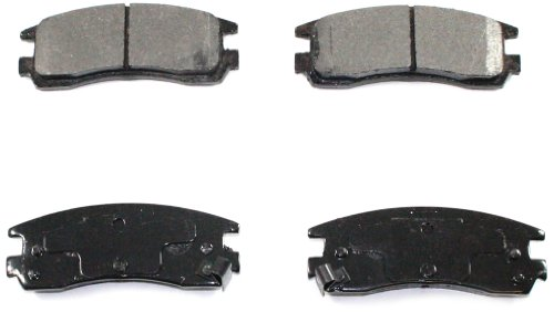 DuraGo BP508 C Rear Ceramic Brake Pad (Buick Regal Rear Brake)