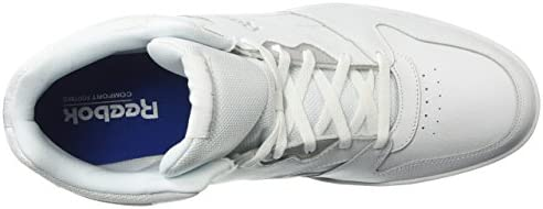 410T90fMJ8L. AC Reebok Men's BB4500 Hi 2 Sneaker, White/Light Solid Grey, 10    Reebok Men's Royal Bb4500 Hi2 Sneaker helps you show your respect for the game while keeping classic, everyday style on point. These mid-cut, basketball-inspired men's shoes are sure to be an instant favorite, with a blended leather and mesh upper weighing in for heritage comfort. Plus, a removable sockliner helps keep feet happy all day long. ImportedRubber soleShaft measures approximately mid-top from archDURABLE AND LIGHTWEIGHT MATERIAL: These game sneakers feature leather and mesh upper for a blend of support and breathabilityEFFICIENT FOOT SUPPORT: These stylish trainers feature high abrasion rubber outsole adds durable responsiveness and lasts many jogs and gamesREMOVABLE ORTHOTICS INSERT: This footwear features removable EVA sockliner accommodates orthotics and offers cushion
