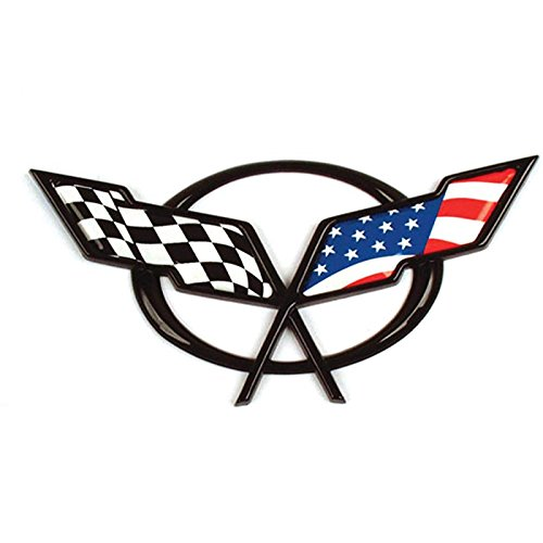 corvette flag emblem - 8