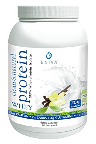 Natural Whey Protein Isolate Soy-Free, Antibiotic-Free, Grass-Fed, Hormone-Free, Gluten-Free, 99 Lactose-Free Dr. Formulated 1 lb