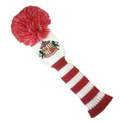 Sunderland AFC Official Product Golf POMPOM DRIVER Headcover Embroidery by Sunderland A.F.C. by Sunderland A.F.C.