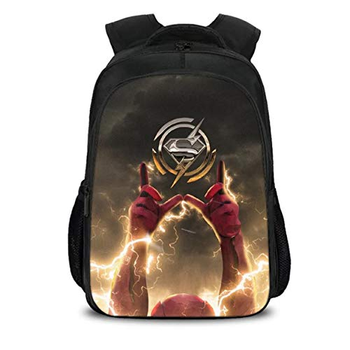 Col-92 Barry Allen The Flash Backpack-3D Printed Superhero School Bag Backpacks -