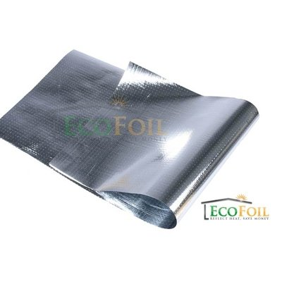 EcoFoil 4' x 250' Perforated Radiant Barrier, Reflective Foil Insulation, Foil Housewrap (1,000 sq. ft.)