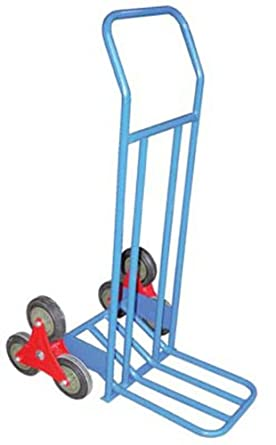 "IHS ST-TRUCK-300 Steel Stair Hand Truck with Painted Finish, 300 lbs Capacity, 24"" Width, 45-3/4"" Height, 32"" Depth"