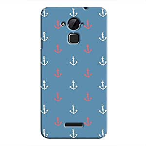 Cover It Up - Red&White Anchors Coolpad Note 3Hard Case