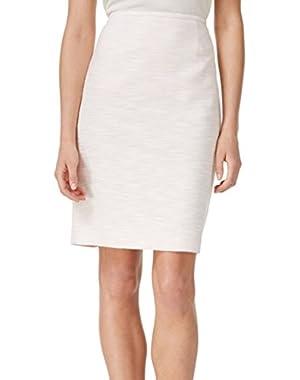 Calvin Klein Petal Womens Petite Straight Pencil Skirt Pink 14P