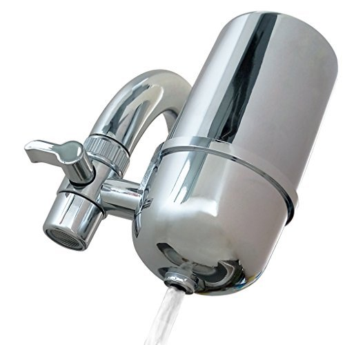 Kabter Faucet Mount Water Filter System Tap Water Filtration ()