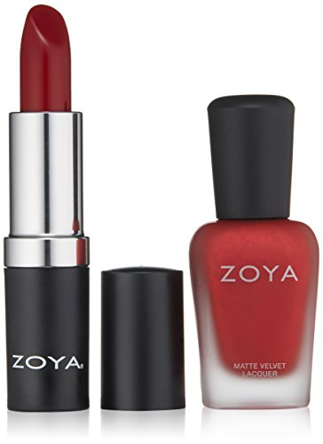 ZOYA Nail Polish, Midnight Kiss Lips & Tips Duo, 1 Fl ()