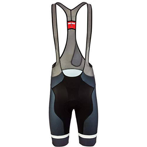 Free Bib Short - Castelli Free Aero Race 4 Limited Edition Bib Short - Men's Black/Dark S. Blue, XL