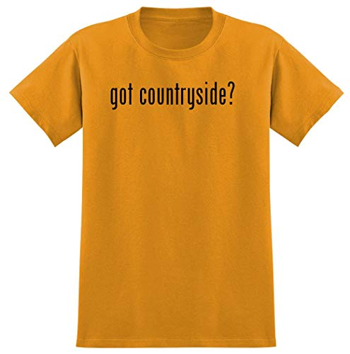 Harding Industries got Countryside? - Men's Graphic T-Shirt, Gold, X-Large
