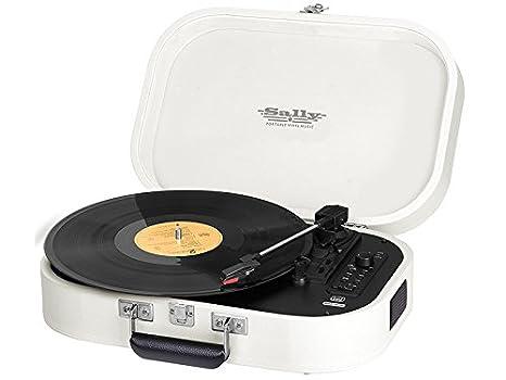 Tocadiscos Portatil Sally MP3 USB Bluetooth Trevi TT 1020 BT ...
