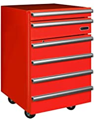 Whynter TBR-182RS Portable Tool Box Refrigerator with 2 Drawers and Lock, 1.8 cu. ft., Red