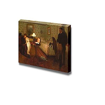 Handsome Piece, Interior (The Rape) by Edgar Degas Print Famous Painting Reproduction, Made With Top Quality