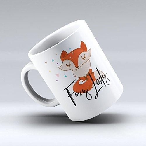 Resourceful Lady Coffee Mug, Foxy Lady, Fox Mug, Fox Mug, Funny Fox Gift, Funny Coffee Mug, Cute Mug, Quote Mug, Funny Mug, 11oz 15oz