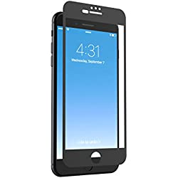 ZAGG InvisibleShield Glass + Luxe Screen Protector for iPhone 7 Plus/6s Plus/6 Plus – Matte Black Finish