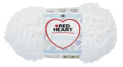 Red Heart Nylon Yarn - Red Heart Buttercup Yarn, White