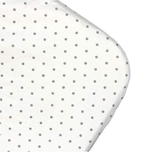MiClassic Waterproof Deluxe Soft Crib Sheet,NO Slight Padding ()