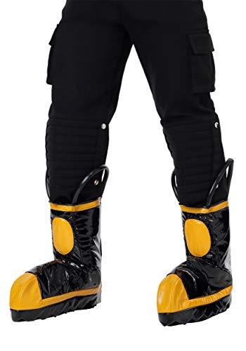 Lady Firefighter Costume (Fun Costumes Men's Firefighter Boot Covers Standard)