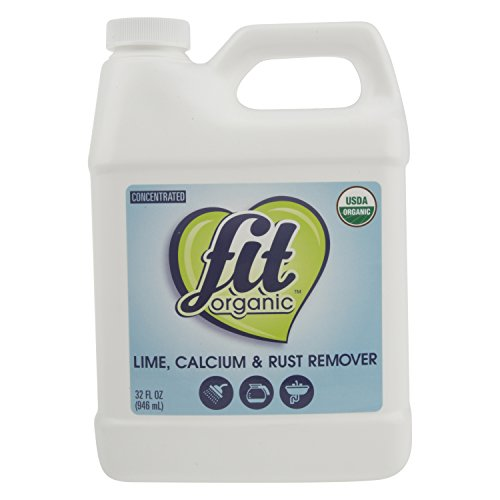 Fit Organic Lime Calcium Rust Remover, 32 Ounce
