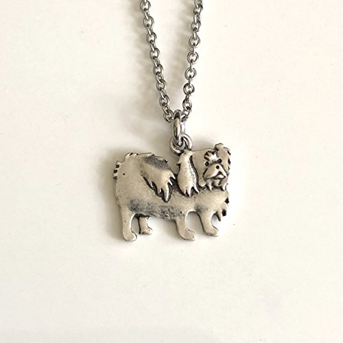 Pekingese Dog Necklace - Lion Dog Breed Jewelry - Gift for Dog (Pekingese Jewelry)