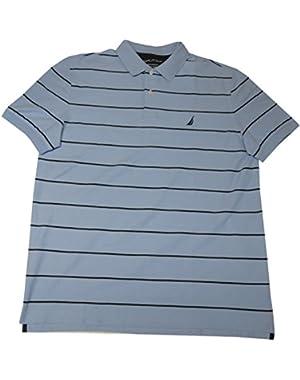 Men's Pullover Shirt, Size XL, Blue