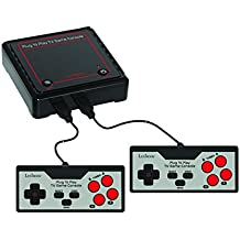 Lexibook Plug N'Play TV Game Console, 300 games, the greatest classics at home, rediscover the greatest classics of video games, 2 players - JG7800
