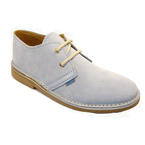 K901FP - Zapato safari azul celeste