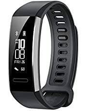 Huawei Band 2 Pro All-in-One Activity Tracker Smart Fitness Wristband   GPS   Multi-Sport Mode  Heart Rate   Sleep Monitor   5ATM Waterproof, Black