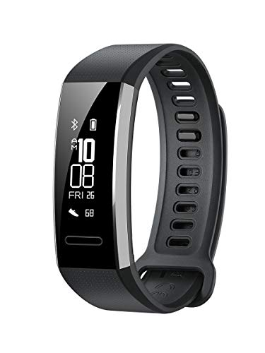 HUAWEI Band 2 Pro fitnesstracker (GPS, Bluetooth, hartslagmeting, waterdicht tot 5 ATM) zwart