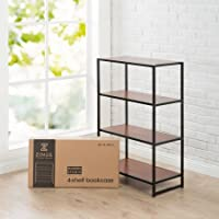 Modern Studio Collection 4-Shelf Bookcase