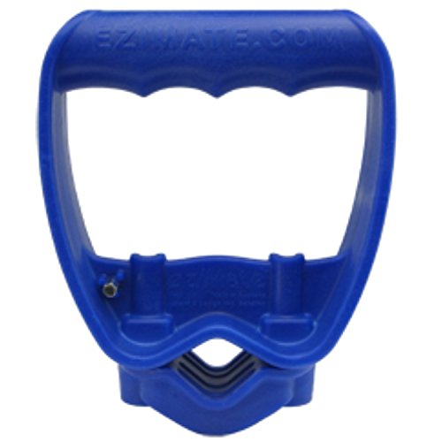 Back-Saving Tool Handle, Labor-Saving Ergonomic Shovel or Rake Handle Attachment, BLUE ()