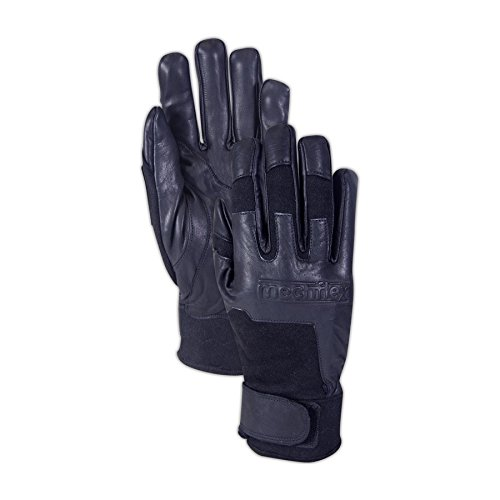 Magid CX62 Flame Resistant Leather Mechanic's Gloves, XL, Black