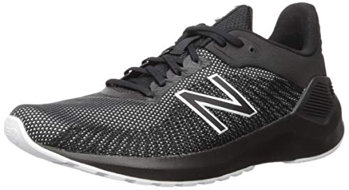 New Balance Men's VENTR V1 Running Shoe, Black/White, 11 D US